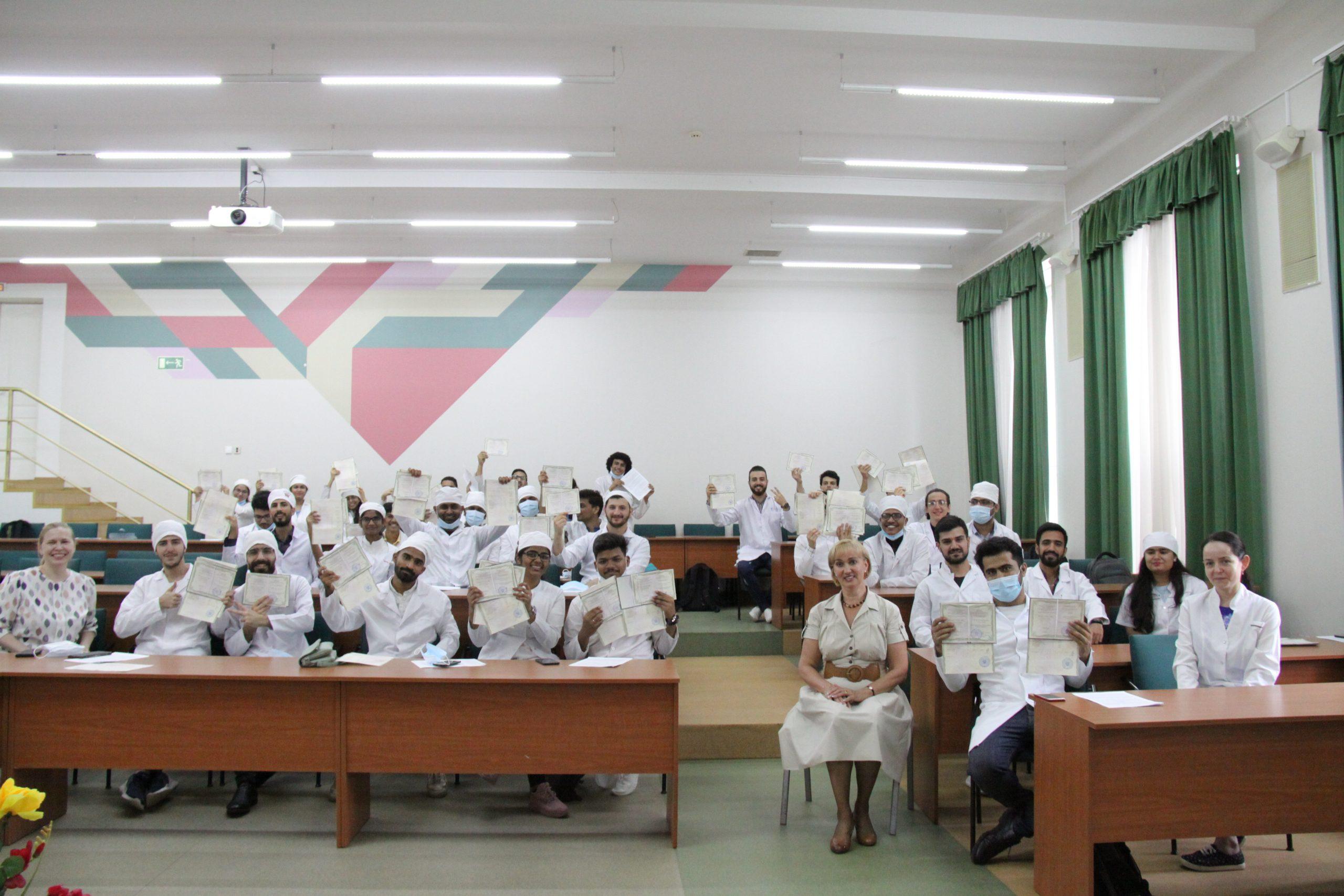 Professional training of the international students