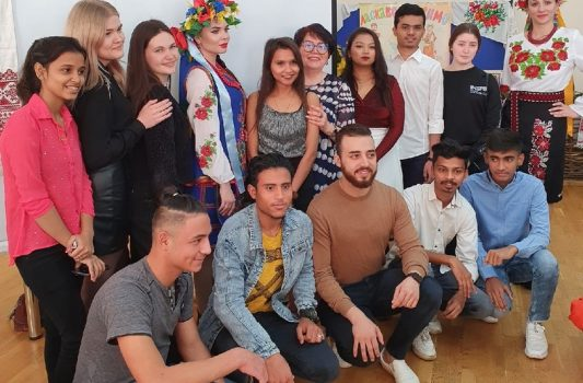 Acquaintance with the cultures of Pechora and Ukraine: students of Pitirim Sorokin Syktyvkar State University had the productive weekend