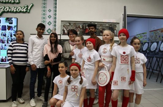 Foreign students of Pitirim Sorokin Syktyvkar State University attended the Republican festival «Northern style»