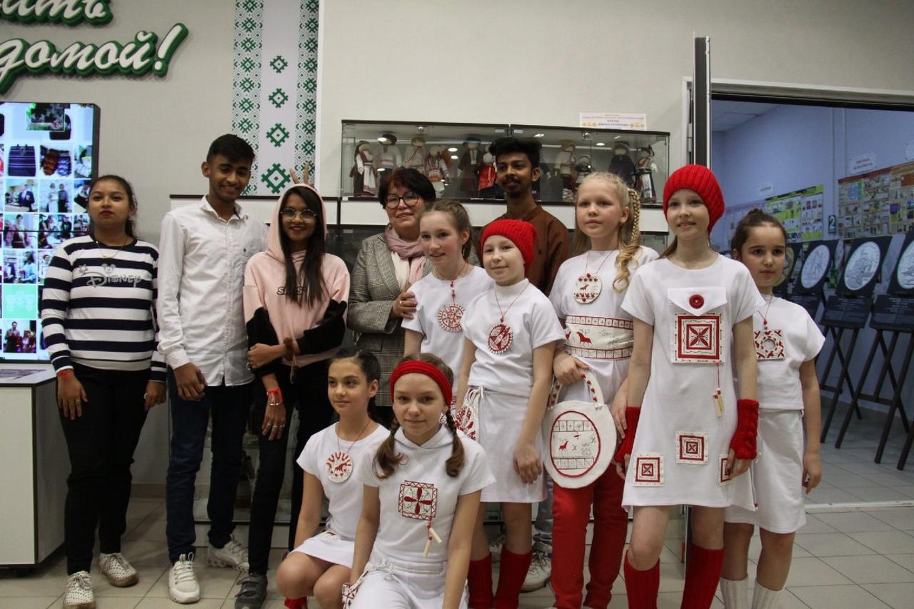International students of Pitirim Sorokin Syktyvkar State University attended the Republican festival «Northern style»